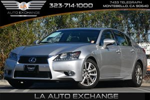 2013 Lexus GS 350  Carfax 1-Owner - No Accidents  Damage Reported to CARFAX Air Conditioning  C
