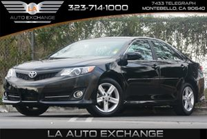 2012 Toyota Camry SE Carfax 1-Owner - No Accidents  Damage Reported to CARFAX Audio  Auxiliary