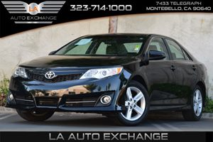 2012 Toyota Camry SE Carfax 1-Owner Child-Protector Rear Door Locks Convenience  Adjustable Ste