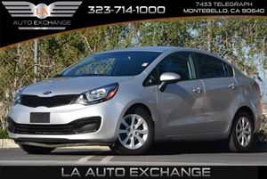 2014 Kia Rio LX Carfax 1-Owner 90 Amp Alternator Air Conditioning  AC Audio  AmFm Stereo A