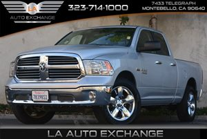 2014 Ram 1500 4X4 Big Horn Carfax 1-Owner Auto Locking Hubs Convenience  Automatic Headlights