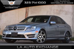 2013 MERCEDES C250 Luxury Sedan Carfax 1-Owner Air Conditioning  Climate Control Air Conditioni