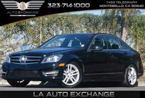 2014 MERCEDES C250 Luxury Sedan Carfax 1-Owner 5 Person Seating Capacity Air Conditioning  AC