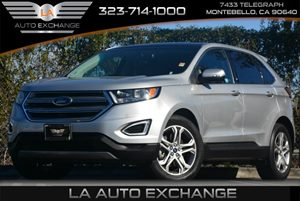 2015 Ford Edge Titanium Eco Boost Carfax 1-Owner - No Accidents  Damage Reported to CARFAX Air C