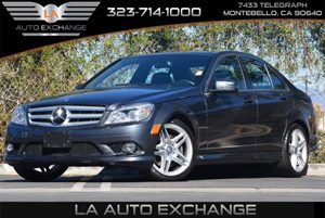 2010 MERCEDES C350 Sport Sedan Carfax 1-Owner Air Conditioning  Multi-Zone AC Audio  Auxiliar