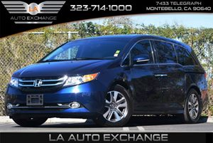 2014 Honda Odyssey Touring Carfax 1-Owner Air Conditioning  Climate Control Air Conditioning