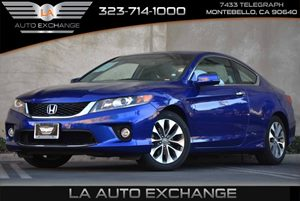2013 Honda Accord Cpe EX Carfax 1-Owner Brake Assist Convenience  Adjustable Steering Wheel Co