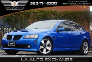 2009 Pontiac G8 GT Carfax Report - No Accidents  Damage Reported to CARFAX Audio  Premium Sound