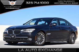 2011 BMW 7 Series 750Li Carfax 1-Owner  Dark Graphite Metallic 4334 Per Month -ON APPROVED C