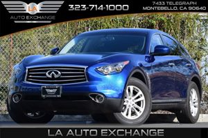 2013 Infiniti FX37  Carfax 1-Owner Audio  Premium Sound System Convenience  Automatic Headligh