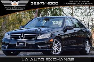2014 MERCEDES C250 Luxury Sedan Carfax 1-Owner - No Accidents  Damage Reported to CARFAX Airbag