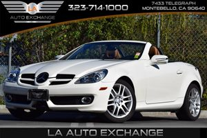 2009 MERCEDES SLK300  Carfax 1-Owner - No Accidents  Damage Reported to CARFAX Anti-Theft Alarm