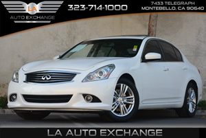 2012 Infiniti G37 Sedan Journey Carfax 1-Owner - No Accidents  Damage Reported to CARFAX 4-Wheel