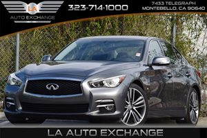 2014 Infiniti Q50 Premium Carfax 1-Owner 5 Person Seating Capacity Airbag Occupancy Sensor Anal