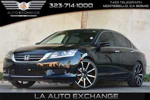 2013 Honda Accord Sdn LX Carfax 1-Owner Air Conditioning  Climate Control Air Conditioning  Mu