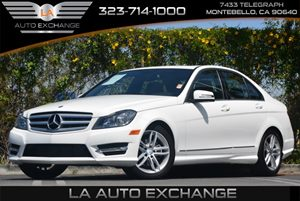 2013 MERCEDES C250  Carfax 1-Owner Convenience  Adjustable Steering Wheel Convenience  Automat