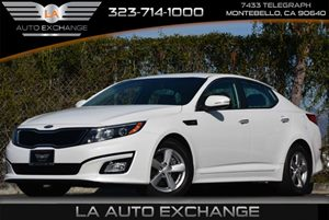 2014 Kia Optima LX Carfax 1-Owner - No Accidents  Damage Reported to CARFAX Audio  Auxiliary Au