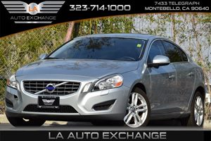 2013 Volvo S60 T5 Carfax 1-Owner Air Conditioning  Multi-Zone AC Audio  Auxiliary Audio Input