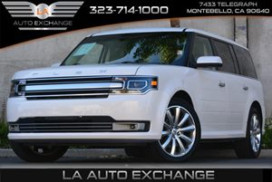 2013 Ford Flex Limited Carfax 1-Owner 2Nd Row Coat Hooks Black Scuff Plates WAluminum Insert D