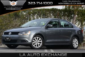2012 Volkswagen Jetta Sedan SE wConvenience  Sunroof PZEV Carfax 1-Owner 6-Speed Automatic Tran