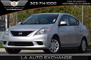 2014 Nissan Versa S PURE DRIVE Carfax 1-Owner 5 Person Seating Capacity Audio  AmFm Stereo Au