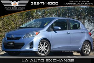 2012 Toyota Yaris L Carfax 1-Owner - No Accidents  Damage Reported to CARFAX  Blazing Blue Pea