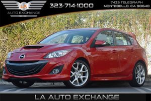 2011 Mazda Mazda3 Mazdaspeed3 Sport Carfax 1-Owner 3-Point Seat Belts For All Positions Air Cond
