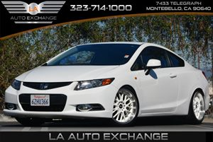 2012 Honda Civic Cpe LX Carfax 1-Owner - No Accidents  Damage Reported to CARFAX Audio  Auxilia