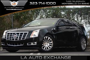 2013 Cadillac CTS Coupe Performance Carfax 1-Owner Air Conditioning  Climate Control Air Condit