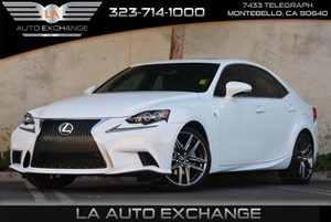 2014 Lexus IS 250 F Carfax 1-Owner Convenience  Adjustable Steering Wheel Convenience  Automat