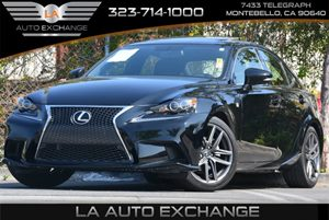 2014 Lexus IS 250 F SPORT Carfax 1-Owner - No Accidents  Damage Reported to CARFAX 100 Amp Alter