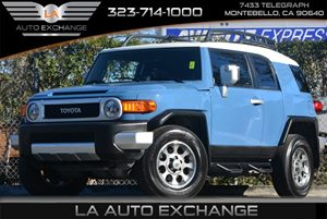 2013 Toyota FJ Cruiser  Carfax 1-Owner 3-Point Seatbelts -Inc Emergency Locking Elr Driver Sea