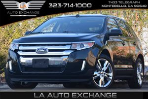 2013 Ford Edge SEL Carfax 1-Owner 4-Wheel Anti-Lock Disc Brakes Air Conditioning  Multi-Zone A