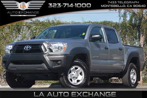 2015 Toyota Tacoma PreRunner V6 Carfax 1-Owner Airbag Occupancy Sensor Brake Actuated Limited Sl