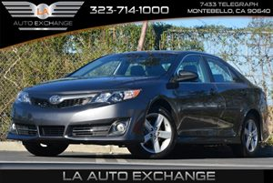 2014 Toyota Camry SE Carfax Report - No Accidents  Damage Reported to CARFAX  Cosmic Gray Mica