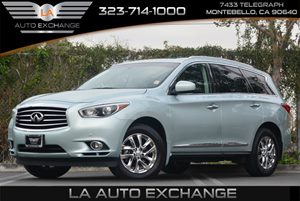 2013 Infiniti JX35  Carfax 1-Owner Auto OnOff High Intensity Discharge Hid Bi-Functional Xenon