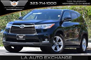 2015 Toyota Highlander Limited Carfax 1-Owner 150 Amp Alternator 192 Gal Fuel Tank Air Condit