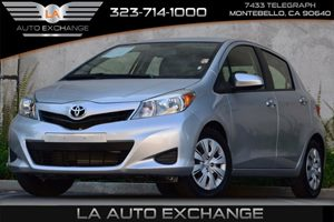 2013 Toyota Yaris L Carfax 1-Owner - No Accidents  Damage Reported to CARFAX Brake Assist Front