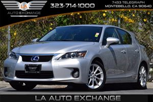 2013 Lexus CT 200h Hybrid Carfax 1-Owner  Silver Lining Metallic 25492 Per Month -ON APPROVE