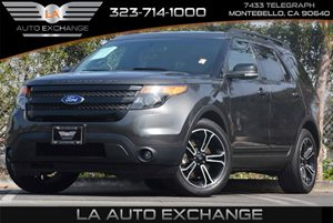 2015 Ford Explorer Sport Eco Boost Carfax 1-Owner 200 Amp Alternator Air Conditioning  Multi-Zo