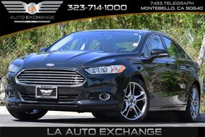 2013 Ford Fusion Titanium Eco Boost Carfax 1-Owner Advancetrac Esc WBrake Traction Control Ai