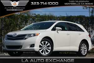 2013 Toyota Venza LE Carfax 1-Owner Anti-Lock Brake System -Inc Electronic Brake-Force Distribut