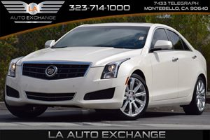 2013 Cadillac ATS Luxury Carfax 1-Owner Audio  Premium Sound System Convenience  Automatic Hea