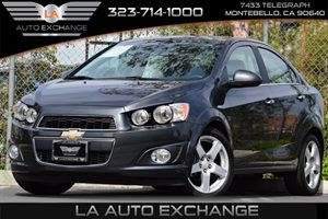 2015 Chevrolet Sonic LTZ TURBO Carfax 1-Owner - No Accidents  Damage Reported to CARFAX Audio