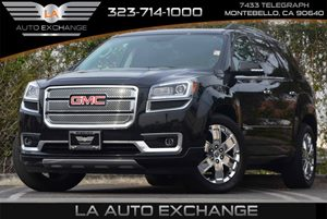 2013 GMC Acadia Denali Carfax 1-Owner - No Accidents  Damage Reported to CARFAX Air Conditioning