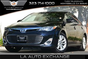 2013 Toyota Avalon XLE Carfax 1-Owner Audio  Auxiliary Audio Input Audio  Cd Player Convenien