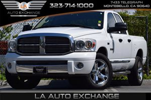 2008 Dodge Ram 1500 Laramie Carfax 1-Owner - No Accidents  Damage Reported to CARFAX 136-Amp Alt