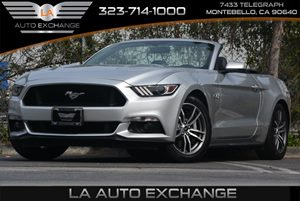 2015 Ford Mustang GT Premium Carfax 1-Owner Air Conditioning  Climate Control Air Conditioning