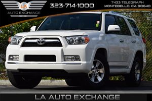 2011 Toyota 4Runner SR5 Carfax Report Eco Driving Indicator 4-Wheel Anti-Lock Brake System
