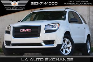 2013 GMC Acadia SLE Carfax 1-Owner Alternator 170 Amps Audio  AmFm Stereo Audio  Auxiliary